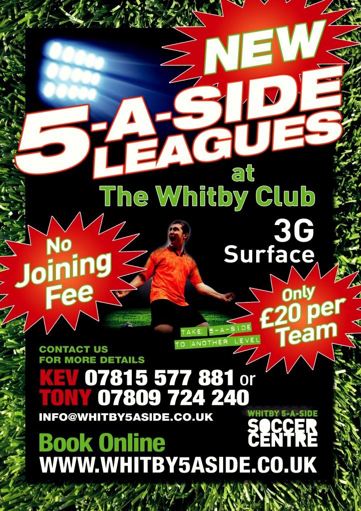 whitby5aside league